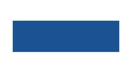 Blaue Schwalbe Logo blaue Schrift ohne Subline