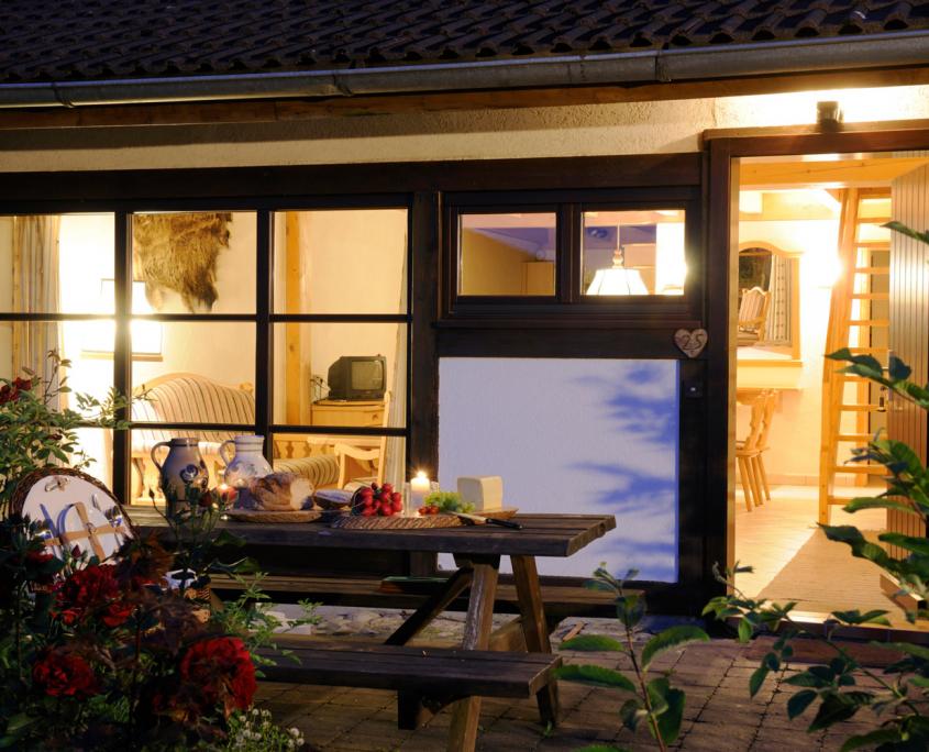 Naturresort Gerbehof am Bodensee Bio-Landhotel Biohotel Naturhotel Seelenwellness Wellness Wellnesshotel Naturspa Spa Privatspa Meditationswanderung Ferienwohnung Aussenansicht