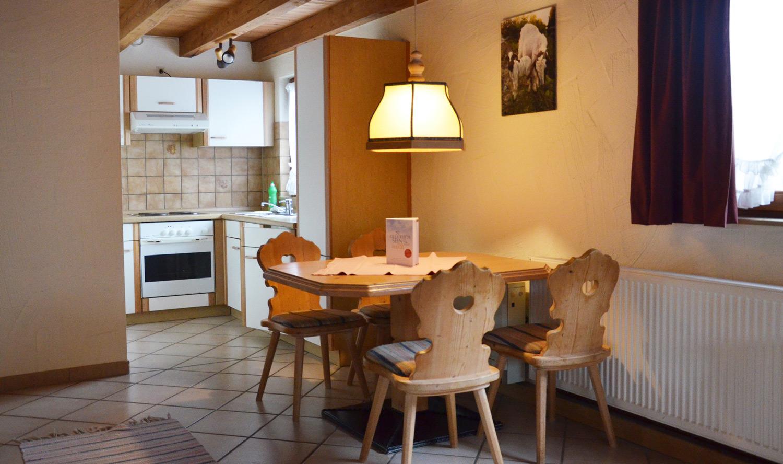 Gerbehof Biohotel Bodensee Ferienwohnung Küche