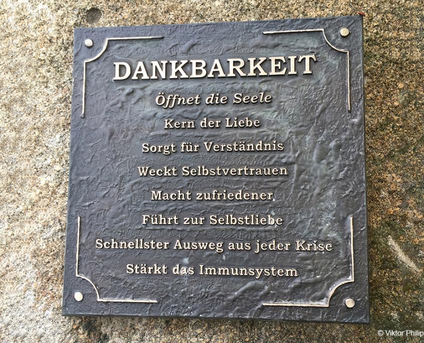 Gerbehof Biohotel Bodensee Dankbarkeit